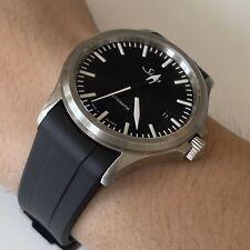 Rubber Watch Band Strap For Sinn 556 356