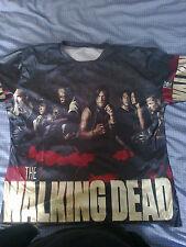 t shirt the walking dead imprimé sur les 2 faces