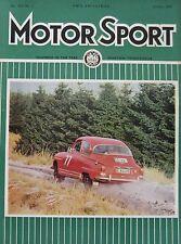 Motor Sport magazine January 1966