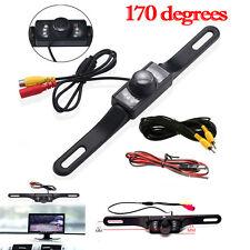 Auto Car Kit Rear View Backup Monitor Parking Camera Night Vision Waterproof zn