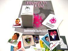 TSCHUTTI  World Cup BRASIL 2014 Komplettset ALLE Bilder Leeralbum Tüte Update