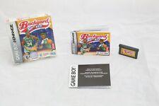 Backyard Sports Basketball 2007 Nintendo Game Boy Advance Complete in Box