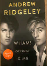 Andrew Ridgeley Autograph - Wham! George & Me Signed Hardback Book 2 - AFTAL