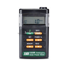 TES-1333R Solar Power Meter Radiation Detector Solar Cell Energy Tester/Software
