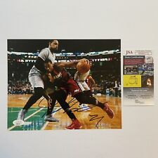 Hassan Whiteside Signed 8x10 Photo Autograph JSA COA Miami Heat Kings Poster NBA