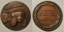 medaglia l'unacoma roma 1970 trattore
