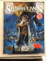 Shadowlands Commodore Amiga ~ OVP/BOXED