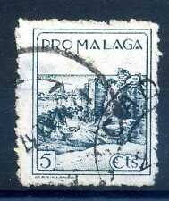 SPAIN - MALAGA - SPAGNA - 1937/1940. Pro Malaga. Edizioni locali. S2084