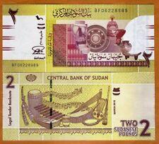 Sudan, 2 Pounds, 2015, P-71b, UNC