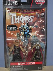 Marvel Legends Defenders of Asgard Figures/Comic (Hasbro 2015) NOC
