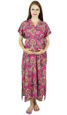 Bimba Maternity Hospital Kaftan Belt Nursing Night Gown  Front &-Fgk