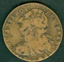 MONNAIE LOUIS XVI   2 SOLS 1792 MA  AN 4  TB    N° 391