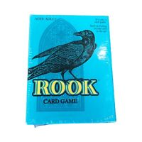 Rook Card Game Classic Parker Brothers Hasbro 2001 New Sealed Blue Box 00714