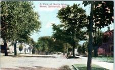 BROOKVILLE, Indiana  IN     NORTH MAIN STREET Scene  ca 1910s    Postcard
