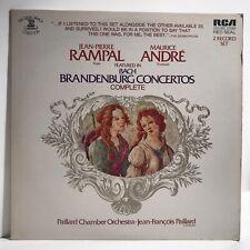 Bach Brandenburg Concertos Jean Pierre Maurice Andre Jean Francois - Record-5801