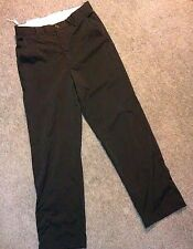 NWT men's Greg Norman BLACK polyester SPANDEX 32X30 golf PANTS