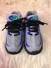 Excellent! Nike Little Max '95 Girl Toddler Sneakers Sz 9 Air Max Gray Purple