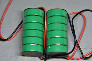 A pair of 7.2V batteries to recell Nikon MN-1s for MB-1 with MD-1, MD-2 and MD-3