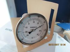 5� Inch Dial Cooler Freezer Thermometer -20˚F to 120˚F / 9� Stem [C5Top]