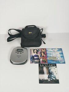 Panasonic Portable CD Player SL-SX300 XBS Anti-Shock Memory II with Case Output
