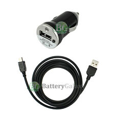 Car Charger+USB Cable for Phone Motorola RAZR RAZOR V3 V3C V3i V3M V3R V3T NEW
