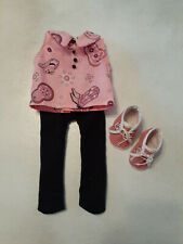 Tights, shirt & tennis shoes for American Girl & other 18 inch Girl Dolls