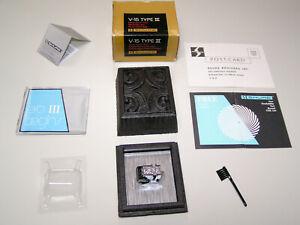 SHURE V15 Type III Super-Track Plus Cartridge, VN35E Stylus, Case, Box & Manual