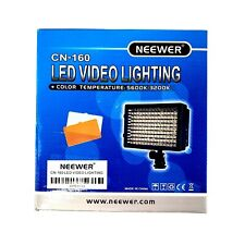 NEEWER CN-160 Dimmable LED Video Light for Canon Nikon Camera Camcorde