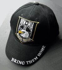POW MIA BRING THEM HOME EMBROIDERED BASEBALL CAP HAT