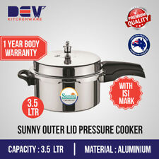 3.5 Ltrs Sunny Outer Lid 3.5 Liters Aluminium Pressure Cooker $39.99 3.5 L