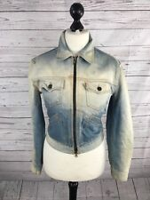 LEVI'S Denim Jacket - UK10 - Faded Navy - Great Condition