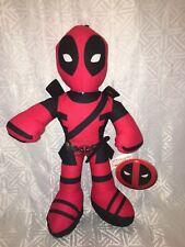 "NWT-14"" Marvel Avengers DEADPOOL Super Heroes Plush Doll Toy"