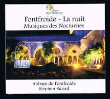 FONTFROIDE - LA NUIT - MUSIQUES DES NOCTURNES - CD 10 TITRES - 2016 - NEUF NEW