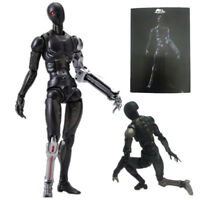 TOA Heavy Industries Synthetic Human Black Body 1/12 PVC Action Figure In Box