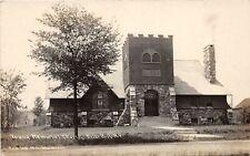 F16/ Brier Hill New York RPPC Postcard c1910 Young Memorial Church
