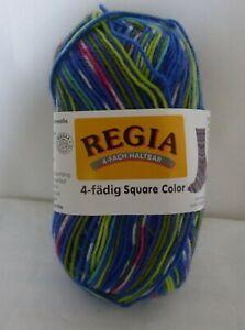 Regia 3032 Square Lampion Colour ~ 4 Ply multicoloured sock yarn x 50g