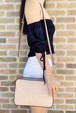 Michael Kors Jet Set Large East West Crossbody Ballet Pink MK Fawn