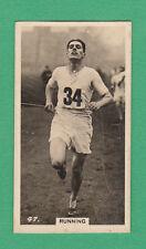 B.A.T.  CO.  LTD. - SCARCE  ATHLETICS  CARD  -  RUNNING  -  1927