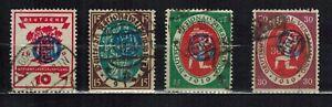 GERMANIA REICH 1920 CIHS COMMISSIONE INTERALLEATA PLEBISCITO ALTA SLESIA