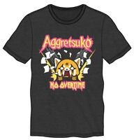 *Legit* Aggressive Retsuko Aggretsuko Anime NO OVERTIME Authentic T-Shirt TS7BL9