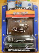 Greenlight Series 4 Muscle Car Garage Custom 1963 Chrysler 300J Gray