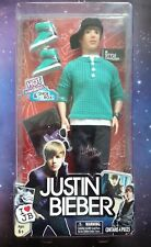 """JUSTIN BIEBER JB STYLE COLLECTION HOT GREEN SNEAKERS TOP  12"""" 30CM DOLL FIGURE"""