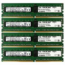 DDR4 2133MHz Hynix 32GB Kit 4x 8GB HP Cloudline CL2100 726718-B21 Memory RAM