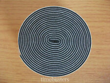 2m Black Single Sided Foam Tape Closed Cell 10mm Wide x 1.5mm Thick