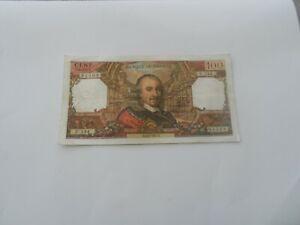 billet 100 francs corneille 1967 u.234