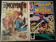 WOLVERINE VS SPIDER-MAN #1 WOLVERINE #10 9.0 VF/NM VS SABRETOOTH Marvel Comics
