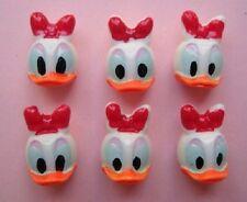 20 Duck Resin Flatback 3D Cabochon Craft Button/bow/Girl/Embellishment B23-Daisy