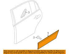 KIA OEM 04-06 Amanti REAR DOOR-Body Side Molding Left 877213F000