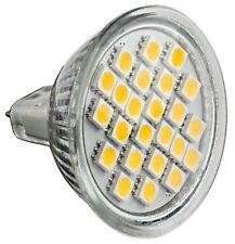 LED SMD 5050 Spot Lampe Strahler Lampe  Energiesparlampe MR16 GU5,3 warm 5W 12V