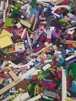 LEGO Friends Bundle Of Assorted Parts 1kG Bricks Plates plants glass starter kit